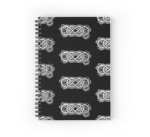 Double infinity Spiral Notebook