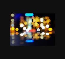 bokeh of city lights in the background Unisex T-Shirt
