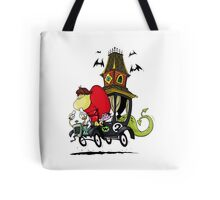 Gruesome Twosome Wacky Races Tote Bag