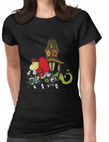 Gruesome Twosome Wacky Races Womens Fitted T-Shirt