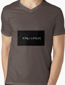 Kali Linux Faded No Dragon Mens V-Neck T-Shirt