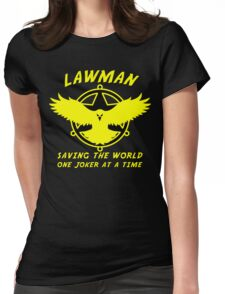Lawman Womens Fitted T-Shirt