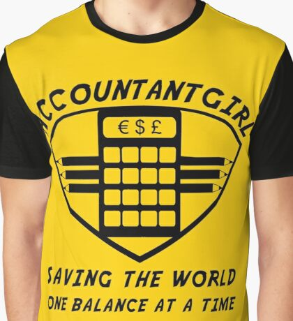 Accountantgirl Graphic T-Shirt