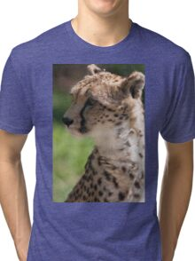 cheetah in the jungle Tri-blend T-Shirt
