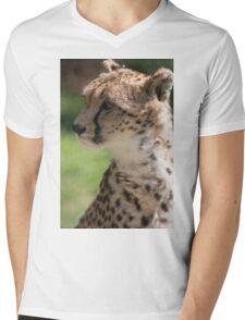 cheetah in the jungle Mens V-Neck T-Shirt