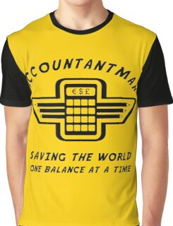 Accountantman Graphic T-Shirt