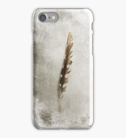 Standing Feather iPhone Case/Skin