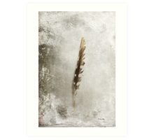 Standing Feather Art Print