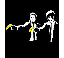 Banksy Pulp Fiction Photographic Print