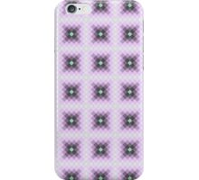 Seamless squares tile pattern iPhone Case/Skin