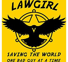Lawgirl Photographic Print