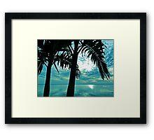 Dream a little dream of the sea Framed Print