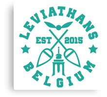 Liege leviathans quidditch - varsity Canvas Print