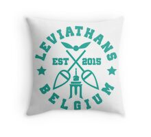 Liege leviathans quidditch - varsity Throw Pillow