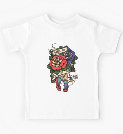 Place like Home Flower and Woman Kids Tee