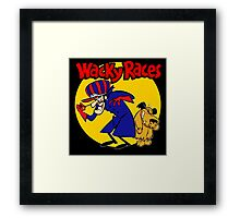 Wacky Races Boy and Dog Framed Print
