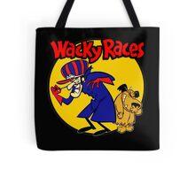 Wacky Races Boy and Dog Tote Bag