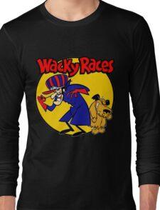 Wacky Races Boy and Dog Long Sleeve T-Shirt