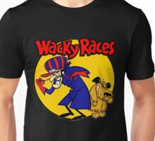 Wacky Races Boy and Dog Unisex T-Shirt