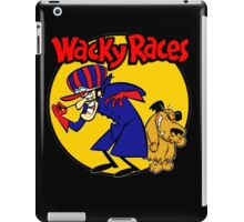 Wacky Races Boy and Dog iPad Case/Skin