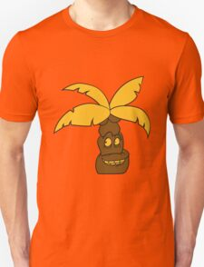 comic cartoon funny sweet small cute palm face, grinning monster Unisex T-Shirt