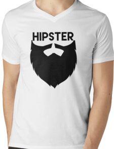 Hipster-beards Mens V-Neck T-Shirt