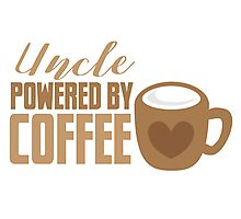 UNCLE powered by coffee Photographic Print