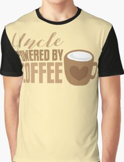 UNCLE powered by coffee Graphic T-Shirt