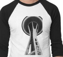 Variation on a Needle Men's Baseball ¾ T-Shirt