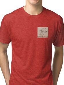 Toilet Poetry Tri-blend T-Shirt