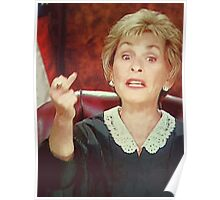 Judge Judy is Awesome Poster