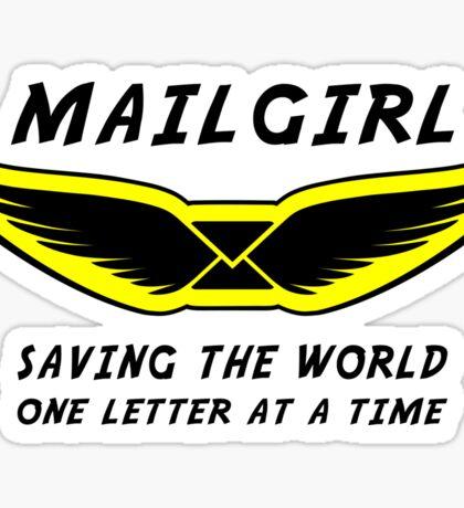 Mailgirl Sticker