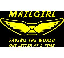 Mailgirl Photographic Print