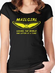 Mailgirl Women's Fitted Scoop T-Shirt