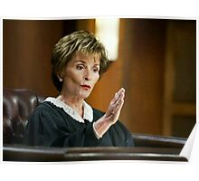 Judge Judy is Awesome 2.0 Poster
