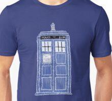 TARDIS Doodle Unisex T-Shirt