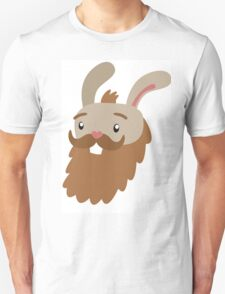 Bearded Bunny Unisex T-Shirt