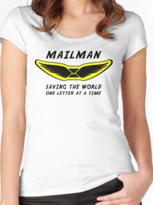 Mailman Women's Fitted Scoop T-Shirt