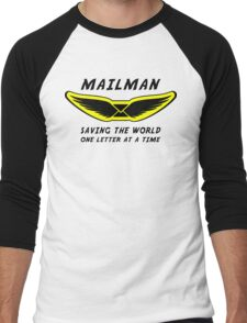 Mailman Men's Baseball ¾ T-Shirt