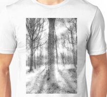 Forest Of Ghosts And Snow Unisex T-Shirt