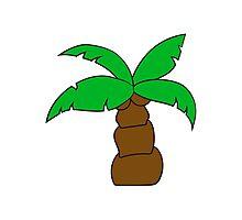 comic cartoon funny sweet small cute palm Photographic Print