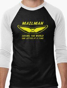 Mailman Men's Baseball ¾ T-Shirt