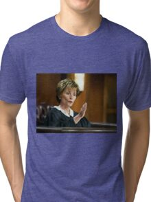 Judge Judy is Awesome 2.0 Tri-blend T-Shirt