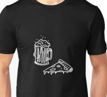 Pizza & Beer Unisex T-Shirt
