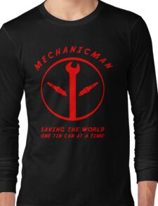 Mechanicman Long Sleeve T-Shirt