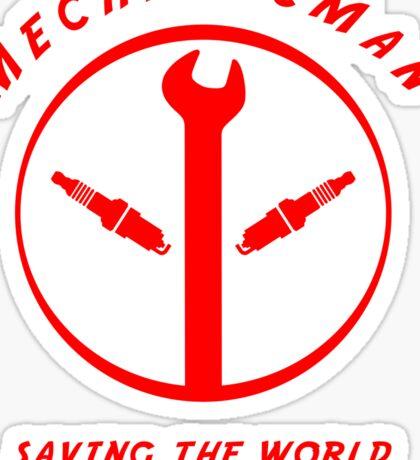 Mechanicman Sticker