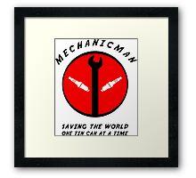 Mechanicman Framed Print