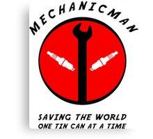 Mechanicman Canvas Print