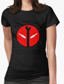 Mechanicman Womens Fitted T-Shirt