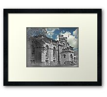 Oxford Church, England Framed Print